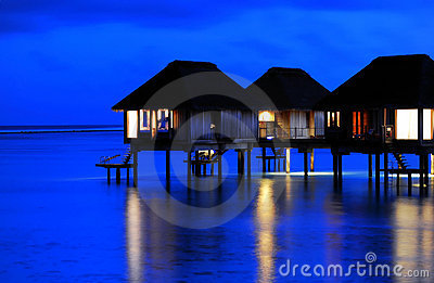 Tranquil Night of Water Villa *