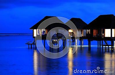 Tranquil Night of Water Villa *