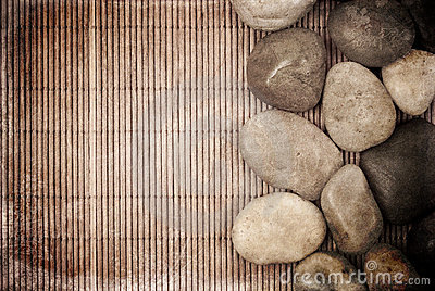Tranquility Concept Grunge Background Stock Photo