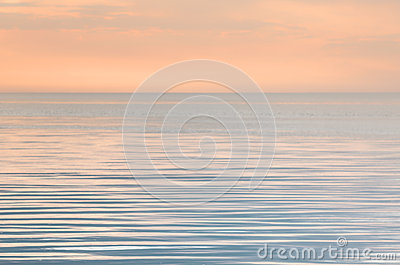 Tranquility on the sea Stock Photo