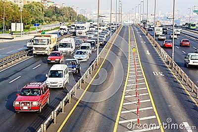 Trans-European Motorway Editorial Photo
