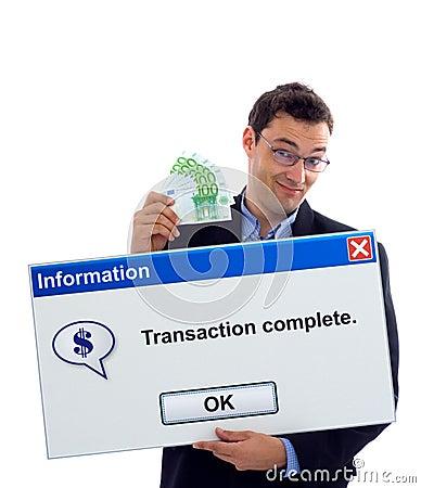 Transaction complete