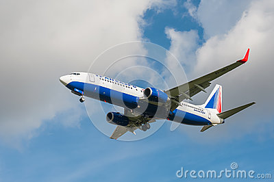 Transaero Boeing 737 Editorial Photography