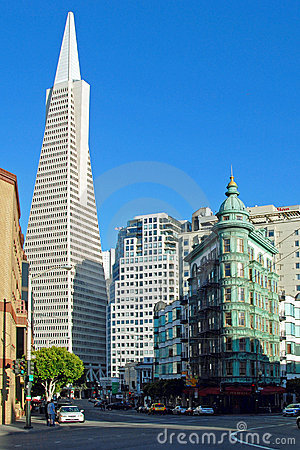 Free Transamerica Bank Building In San Francisco Royalty Free Stock Image - 18678986