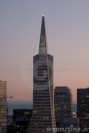 Transamerica Pyramid Editorial Stock Image