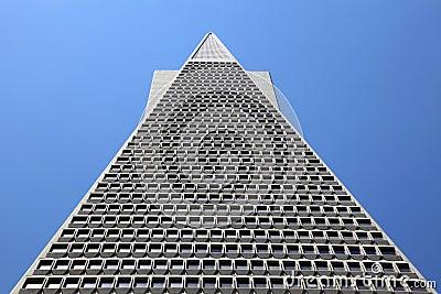 Transamerica Pyramid, San Francisco, Editorial Photo