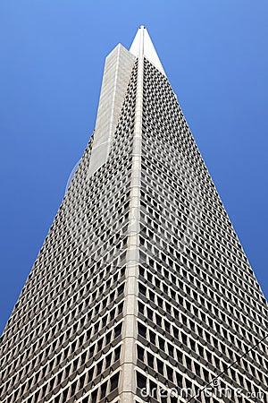 Transamerica Pyramid, San Francisco, Editorial Image