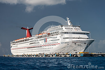 Transatlantic in Cozumel Mexico Editorial Photography