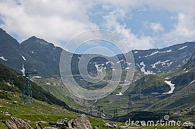 Transfagarasan landscape