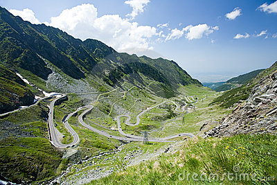 Transfagarasan, the most famous road in Romania