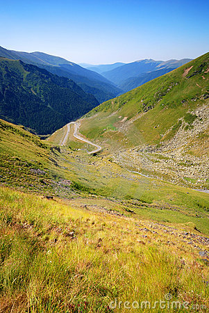 Transfagarasan mountain road, Romania