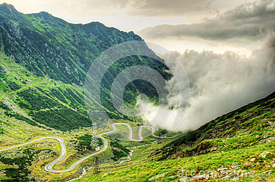 Transfagarasan, after the storm