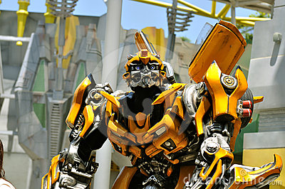 Transformer Bumble bee Editorial Image