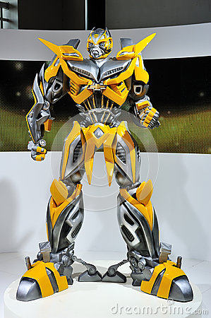 Transformers Bumblebee Editorial Stock Photo