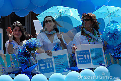 Transgender, Gay Pride Parade Editorial Stock Photo
