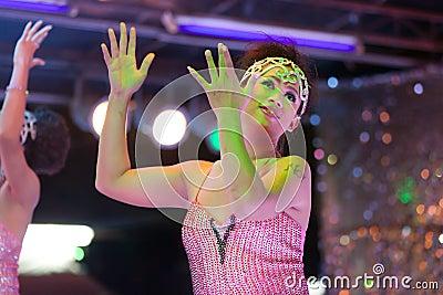 Transgender thai dancer