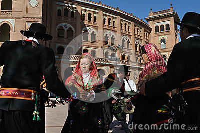 Transhumance in Madrid - Spain Editorial Stock Photo