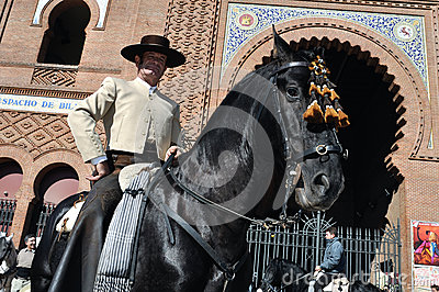 Transhumance in Madrid - Spain Editorial Photography