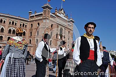 Transhumance in Madrid - Spain Editorial Photo
