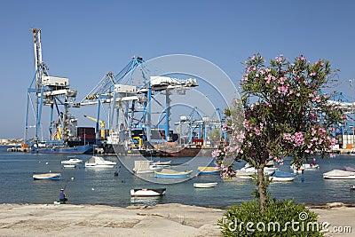 Transit port