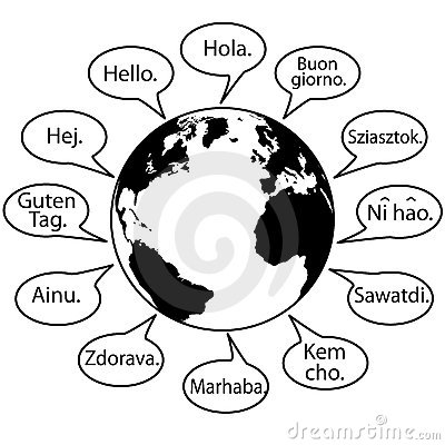 Free Translate Earth Languages Say Hello World Stock Images - 11502744