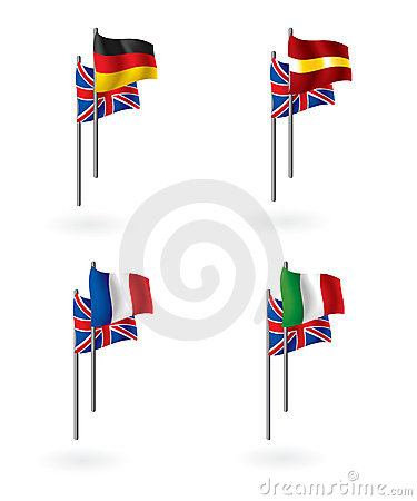 Translation from english flags