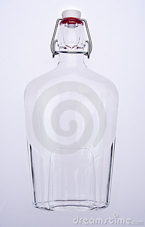 Translucent Liquid Filled Bottle