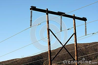 Transmission lines & telephone poles