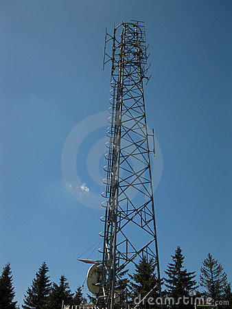 Transmitter and receiver antenna