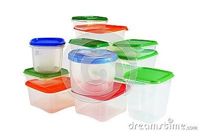 Transparante plastic dozen voor opslag van producten royalty vrije stock fotografie afbeelding - Opslag voor dressing ...