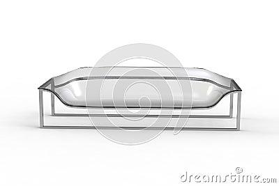 Transparent Acrylic Sofa 2