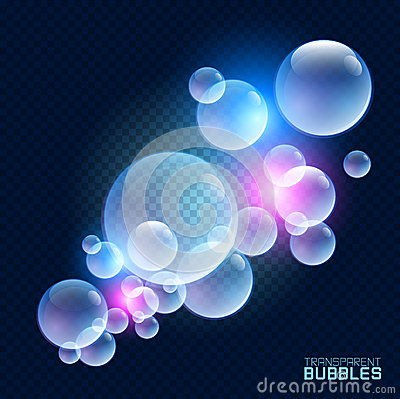 Transparent Bubbles