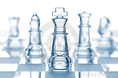 Transparent chess team