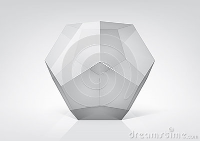 Transparent dodecahedron