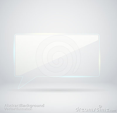 Transparent Glass chat