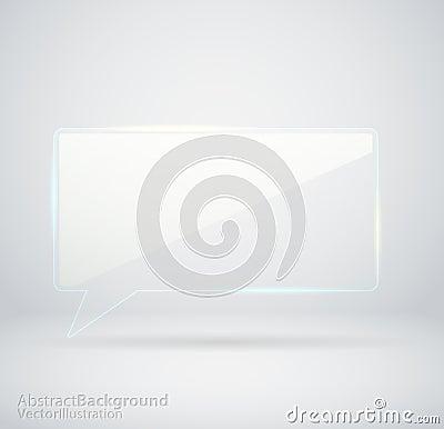 Transparent Glass chat