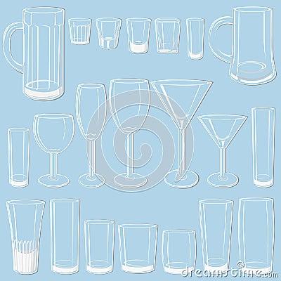 Free Transparent Glass Set Stock Images - 5236474