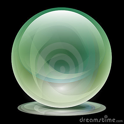 Transparent Glass Sphere-Ball