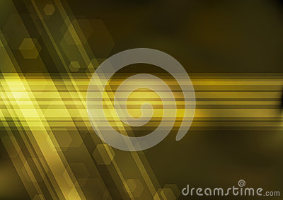 Transparent golden bokeh background