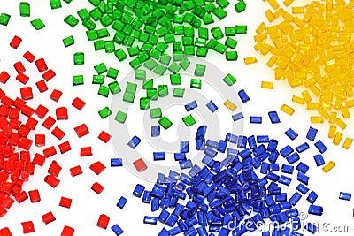 Transparent polymer resin