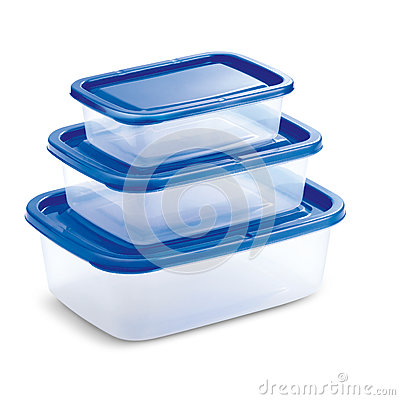Free Transparent Tupperware With Blue Cover Royalty Free Stock Images - 72383839