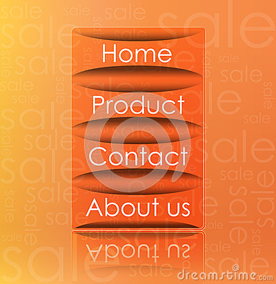 Transparent web element vector format
