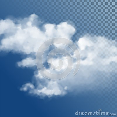 Free Transparent White Vector Cloud Stock Photos - 122090313