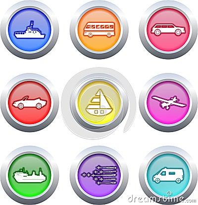 Transport buttons