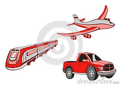 Transport Cartoons