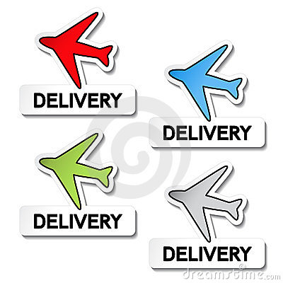 Transport pointers - airplane delivery