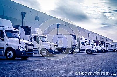 Transport shipping logistics concept image