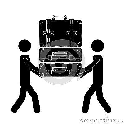 Transport suitcases