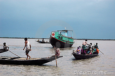 Transport of Sundarban-India Editorial Photo