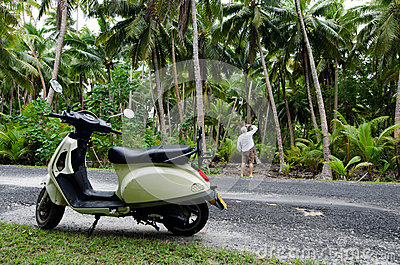 Transportation in Aitutaki Cook Islands